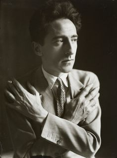 Jean Cocteau by Germaine Krull, 1929