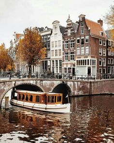 Autumn in Amsterdam! Photo by . Amsterdam Photography, Travel Photography, Cool Places To Visit, Places To Travel, Destination Voyage, City Aesthetic, Best Vacations, Netherlands, Beautiful Places