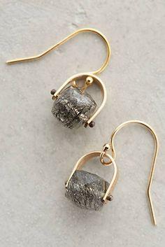 at anthropologie Elm Quartz Drops Modern Jewelry, Metal Jewelry, Crystal Jewelry, Jewelry Box, Unique Jewelry, Jewellery, Quartz Jewelry, Jewelry Ideas, Gold Jewelry
