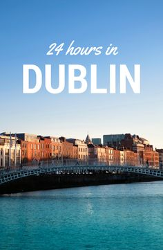 Visiting #Dublin but stuck for time? Fear not, Dublin city centre is so compact that it's possible to see all the main sights and get in a few sneaky pints in less than 24 hours.