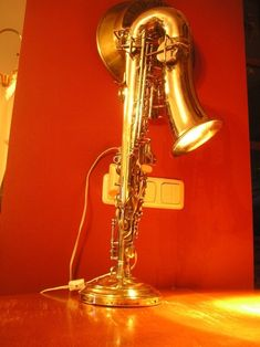 saxophone lamp, alto sax, innovative saxophone lamp, Russian alto sax