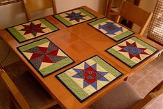 Placemats finished!