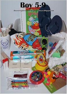 Shoe box ideas for boys 5-9 OCC Shoe boxes 2012
