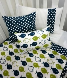 Navy and Green Baby Boy Crib Bedding! by dawn.doss.92