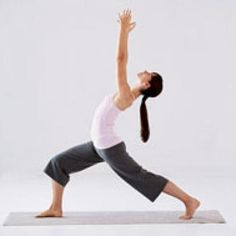If you're suffering from mild depression, you can boost your mood with Crescent Pose.