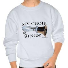 My Choir Rings! -  Handbell Pull Over Sweatshirt