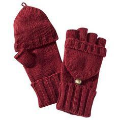Merona® Fliptop Gloves - Maroon