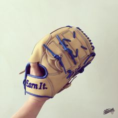 Build your custom baseball/softball glove at gloveworks.net #CustomGlove #BringIthome