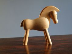 Kay Bojesen Horse...We had one of these when we were growing up. I wonder if Granny still has it?