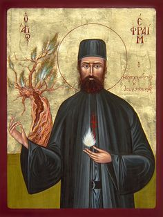 """Prayers to the Holy Martyr St. Ephraim of Nea Makri, who intercedes on behalf of those with addictions to alcohol and drugs. . """"O Holy Martyr Ephraim, look with compassion..."""