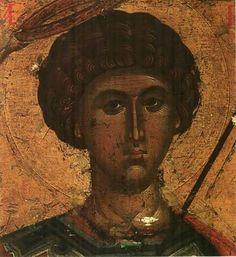 Byzantine Icons, Byzantine Art, Russian Icons, Saint George, Orthodox Icons, Christian Art, Religious Art, Statue, Artwork