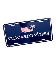 vineyard vines Logo License Plate