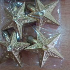 Estrellas Doradas x 4