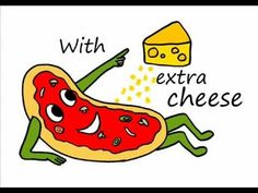 I AM A PIZZA Song ...Fun song for brain breaks recommended by Charlotte's Clips   http://pinterest.com/kindkids/loving-language-arts-charlotte-s-clips/