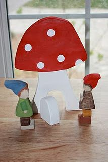 toadstool house :)