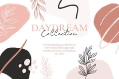 Daydream Collection seamless patterns | Etsy, graphic design, branding, web design #ad