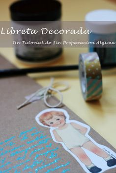 Libreta decorada con sellos embosing Place Cards, Place Card Holders, Scrapbook, Good Things, Marketing, Diy, Spaces, Stamps, Tutorials
