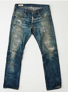 Edwin Jeans, Japanese Denim, Nudie Jeans, Vintage Jeans, Distressed Jeans, Blue Jeans, What To Wear, Men's Denim, Man Style