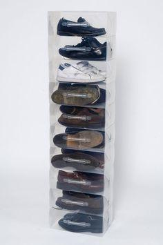 Clear Storage Boxes Shoes Men's