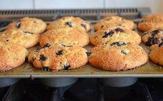 TESTED & PERFECTED RECIPE - Bursting with fresh blueberries with a tender crumb & sparkling sugar crust, these really are the best blueberry muffins.