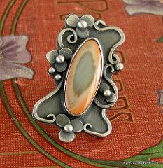 Imperial jasper ring | by Louise O'Dwyer