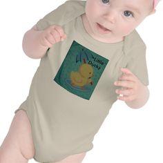 Little Ducky with Umbrella Infant Organic Sleeper