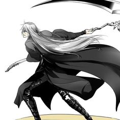 Undertaker #Kuroshitsuji#BlackButler#黒執事
