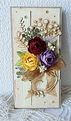 Craft Style blog: Kartka w stylu Shabby