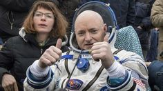 Less than two weeks after returning to Earth after nearly a year in space, astronaut Scott Kelly is hanging up his spacesuit.