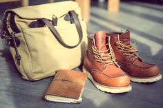 NEWSEUM by Crämer&Co with Filson, RedWing Moctoe and Midori Travelers Notebook