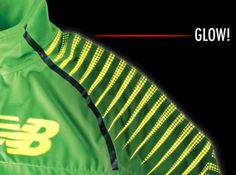Glow-in-dark Running Jacket? Now a reality
