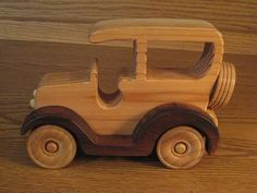 Really nice! Love the two-toned look. https://www.etsy.com/listing/197926799/wood-car-c2-3w-x-5h-x-712l