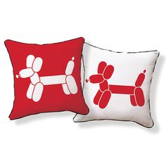 Found it at Wayfair - Naked Decor Doxie Red Balloon Pillowhttp://www.wayfair.com/Naked-Decor-Doxie-Red-Balloon-Pillow-red-dog-balloon-NKD1469.html?refid=SBP