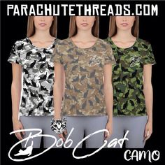 All-Over Print Women's Athletic T-shirt bob cat camouflage Mesh Fabric, Spandex Fabric, Cat Shots, Yoga Tops, Athletic Women, Ladies Yoga, Fabric Weights, Camouflage, Outfit Of The Day