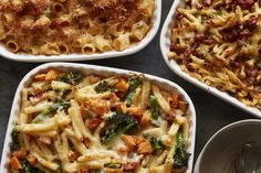 The ULTIMATE Mac and Cheese recipe with 3 variations like Gouda & Crispy Pancetta, Brown Butter & Sage, and a Broccoli & Butternut Squash Mac and Cheese!
