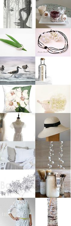 Minimal White by Linda Voth on Etsy--Pinned with TreasuryPin.com