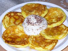 Griddle Cakes, Czech Recipes, Muesli, Breakfast Time, Recipe Of The Day, Nutella, Cooker, Pancakes, Food And Drink