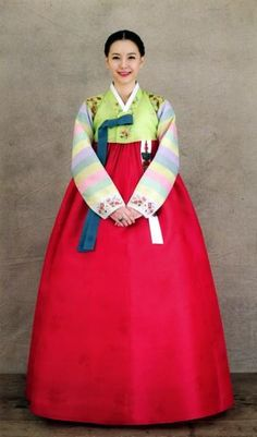 Ханбок корейские национальные костюмы