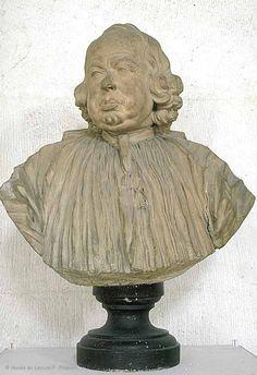 Jean-Jacques CAFFIERI (Paris, 1725 - Paris, 1792)  Le Chanoine Alexandre-Gui Pingré (1711 - 1796)  1788  Terre cuite  H. : 0,51 m. ; L. : 0,51 m. ; Pr. : 0,34 m.  Entré au Louvre en 1909  | Musée du Louvre | Paris