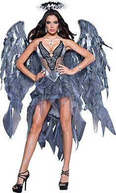 Find sexy Halloween costumes for women, men, and plus-size right here! Shop our selection for the best sexy Halloween costume ideas around! A revealing, sexy costume is sure to make your Halloween or cosplay event a memorable one. Costumes Sexy Halloween, Halloween Look, Sexy Costumes For Women, Halloween Fancy Dress, Adult Costumes, Adult Halloween, Women Halloween, Dark Angel Halloween Costume, Spirit Halloween