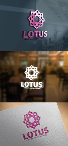Lotus Logo. Logo Templates. $28.00