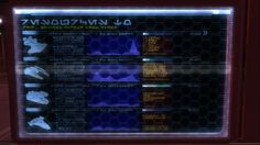 Star Wars Language... :P don't ask me which one exactly, lol. Tech-Screen. SWTOR