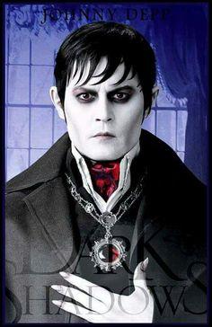 Johnny Depp as Barnabas Collins (Dark Shadow)