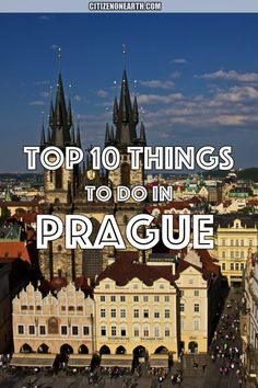 top things to do in prague