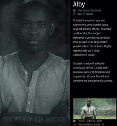 Aml Ameen as Alby