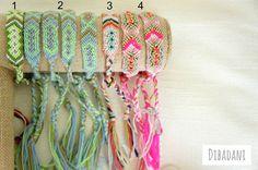 Boho - Friendship bracelet - Woven - braided