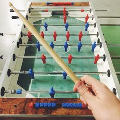 Drumstick is playing table soccer #drumstickeverywhere #drums #drummer #bateria #drumporn #percussion #vsco #vscocam #love #drumstuff #harrypotter #like4like #drumstagram #drumsticks #vf15 #sticks #baquetas #drummingco #dw #zildjian #pearl #vicfirth #vater #promark #ahead #meinl #photooftheday #tablefootball #tischfussball #tablesoccer by drumstickeverywhere