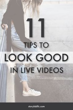 If live video will save your content strategy, here's how to do it right: 11 Tips To Look Better In Live Broadcasts