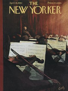 The New Yorker - Saturday, April 28, 1962 - Issue # 1941 - Vol. 38 - N° 10 - Cover by : Arthur Getz
