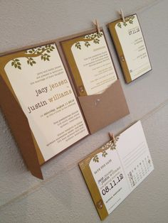 Giving Tree Wedding Invitations by papermadeinvites on Etsy, $1.50